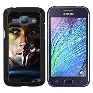 Qstar Arte & diseño plástico duro Fundas Cover Cubre Hard Case Cover para Samsung Galaxy J1 J100 (Drive - Gosling)