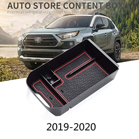 Armrest Secondary Storage Center Console Tray Organizer for Ford F150 2015-2018
