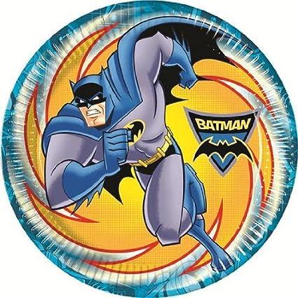 Cumpleaños de Batman - Batman fiesta platos de papel x 8 ...