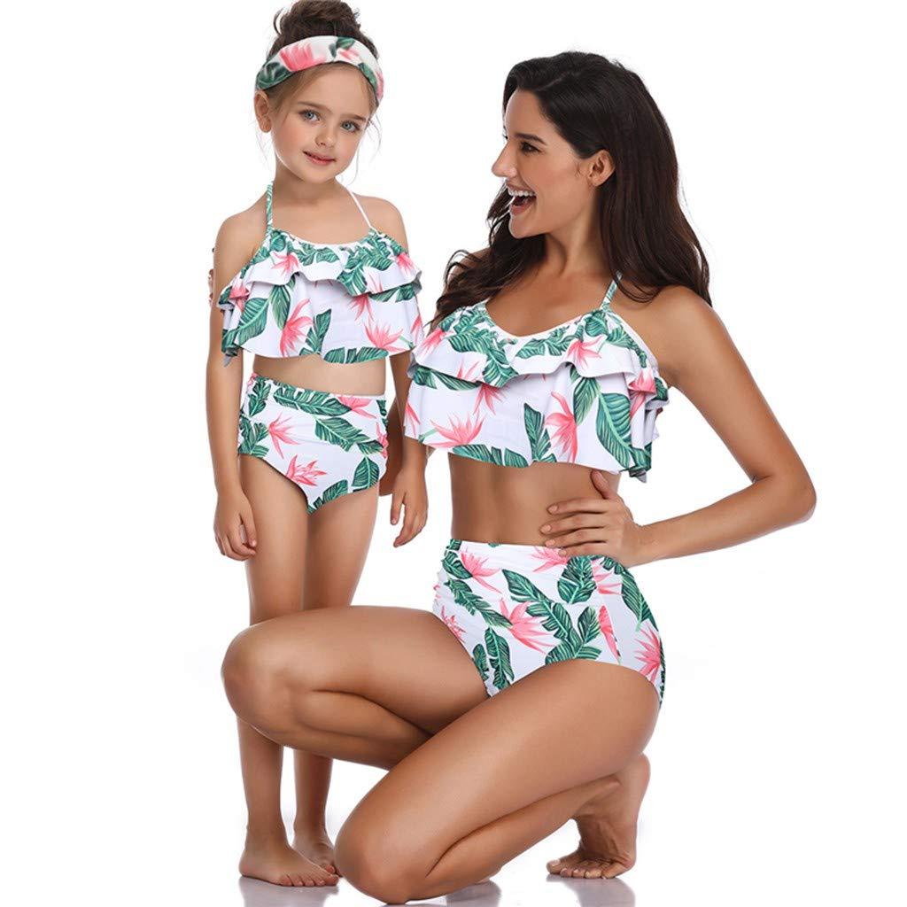 Riou Tankinis Damen Mädchen Badeanzug Große Größen Bauchweg Push Up Sexy Bikini Set Rückenfrei Bandeau Bademode Für Sommer Beach Sport Schwimmanzug Beachwear