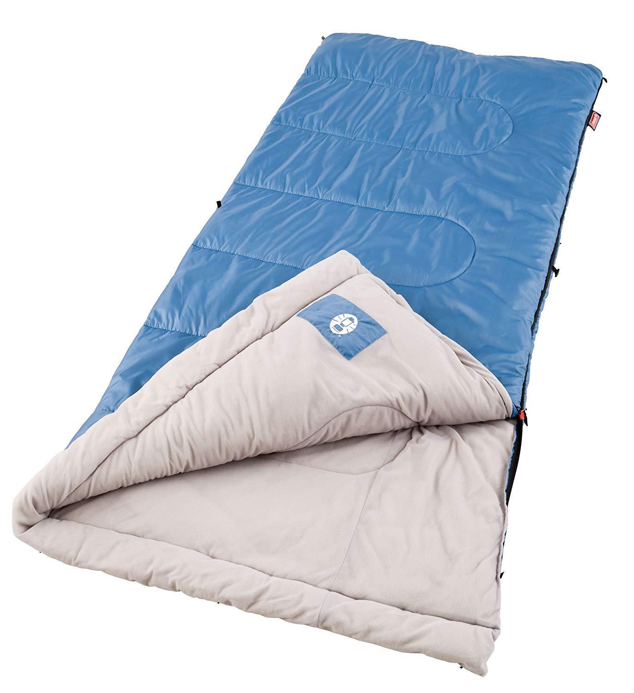 Coleman Sun Ridge 40 F Warm Weather Sleeping Bag