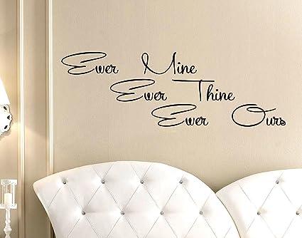 Frasi Ufficio Inglese : Stickerdesign adesivo murale wall stickers frase dedica amore