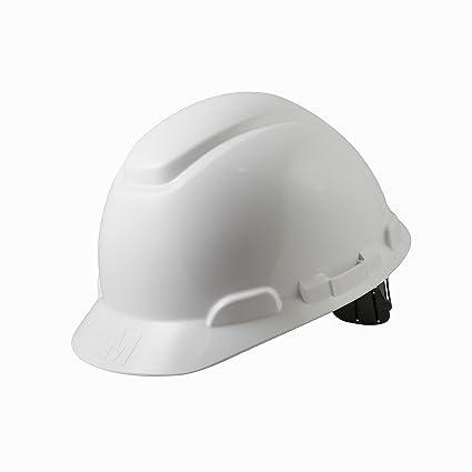 3M H701CVI - H701 Casco sin ventilación, blanco, arnés estándar