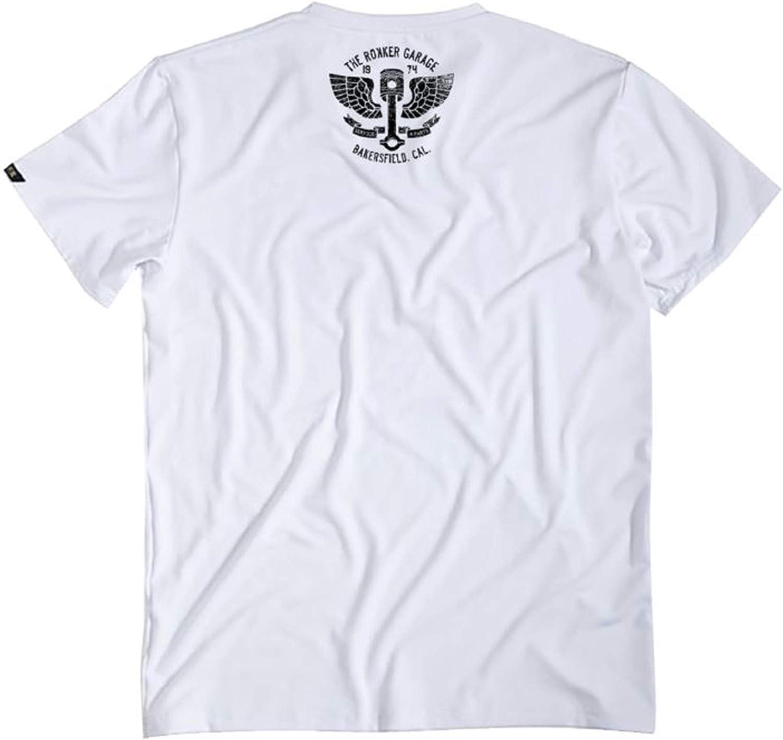 Rokker Performance T-Shirt Bakersfield weiss