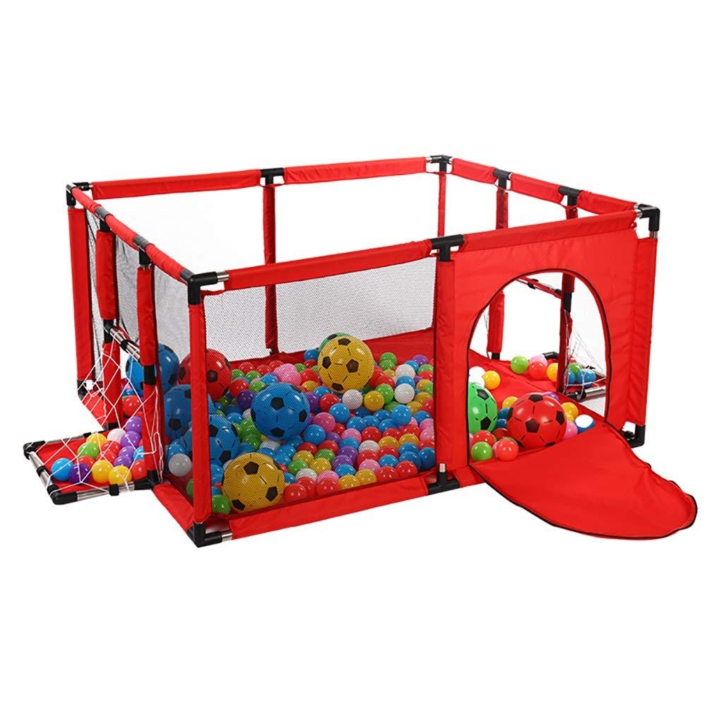 偉大な BSNOWF-ベビーサークル 赤ちゃんの安全な遊び場、フットボールボックス、アンチロールオーバーキッズアクティビティセンター幼児用ルームディバイダーフェンス Small、62cm高さ(ボールなし) (サイズ さいず さいず : Small) (サイズ Small B07JMYLNJ8, コンタクトショップ Pinchi:7e2ff542 --- a0267596.xsph.ru