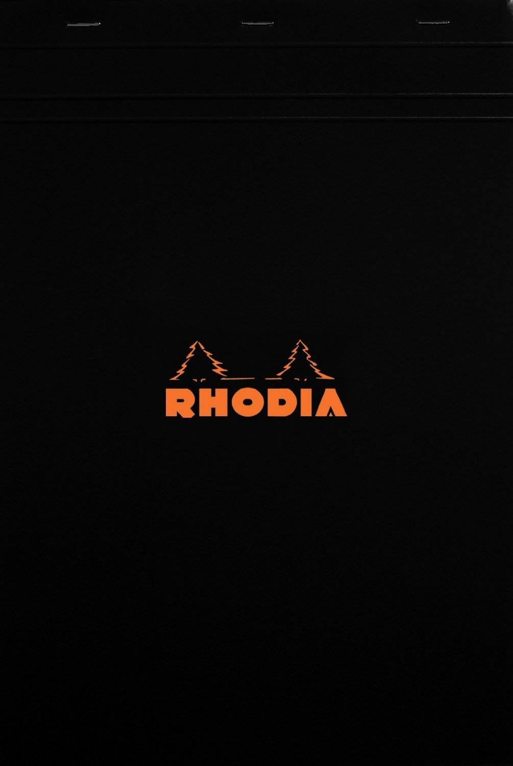Rhodia Notepads Black Graph 80 Sheet 8.25x11.75, Pack of 5 by Rhodia (Image #1)