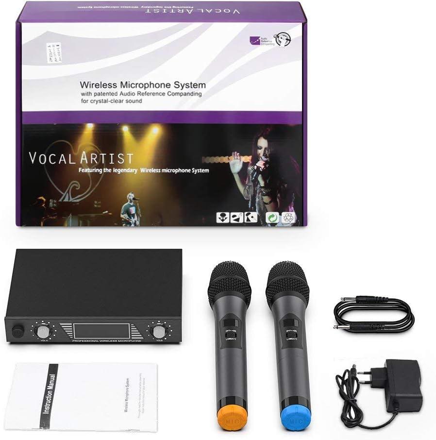 Party LESHP Wireless Mikrofon Hochzeit usw UHF Wireless Mikrofon ...