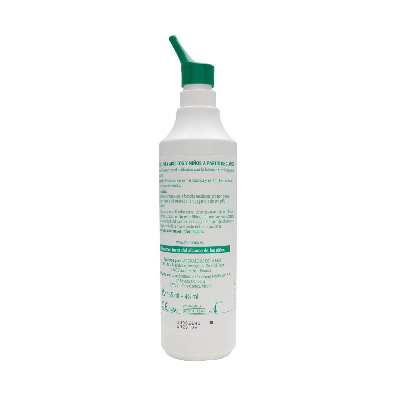 Amazon.com: Rhinomer 2 Force – 135 ml + 45 ml libre ...