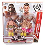 WWE Battle Pack: Randy Savage vs. CM Punk Figure 2-Pack Series 14