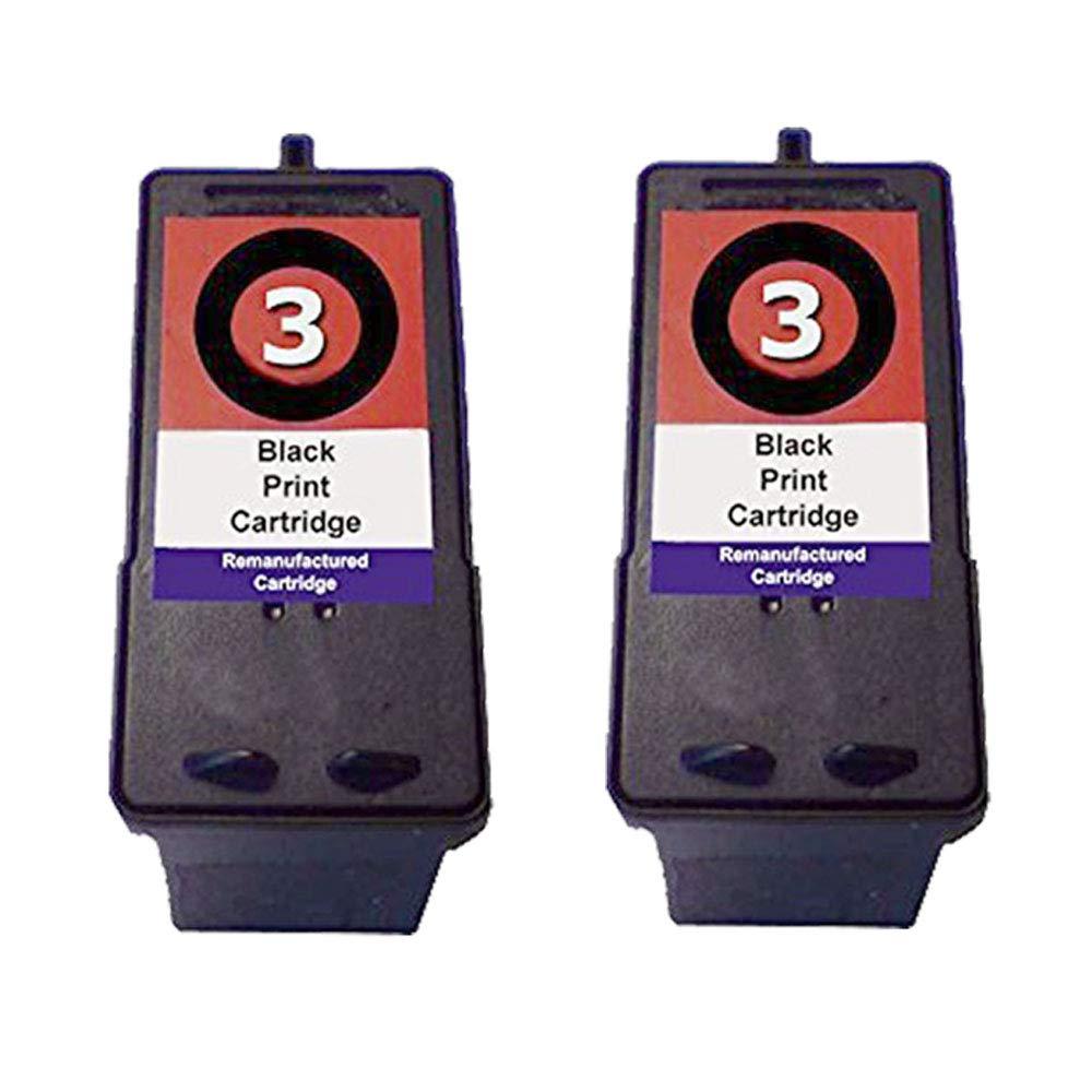 Gran Capacidad compatibles Lexmark 3 & 2 Tinta Cartuchos de Tinta 2 Lexmark X2480 X2580 X3480 X3580 X4580 Z1380 Z1480 Z738 imprimant, Color 2X Tricolore cf3e49