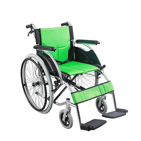 Silla de ruedas Feifei aleación de Aluminio portátil Plegable Ultraligero Viaje