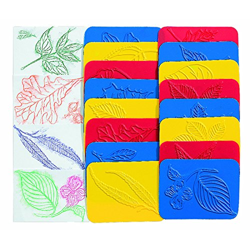 ROYLCO INC. RUBBING PLATES LEAF (Set of 3)
