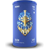 Falcon Protein Birdman, Proteina vegetal (Vegana) en polvo Certificada Organica Sabor Vainilla 1,170 kg