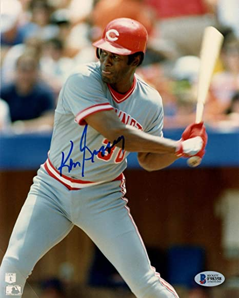 9c575837219 Image Unavailable. Image not available for. Color  Signed Ken Griffey Sr.  ...