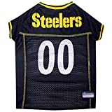Pets First Pittsburgh Steelers Mesh Jersey, XX-Large