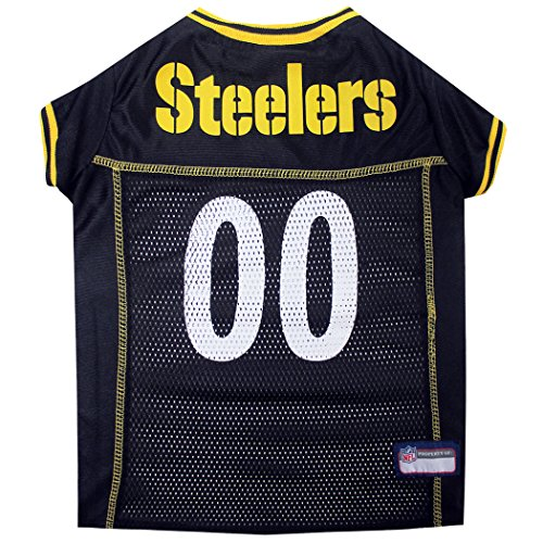 NFL PET JERSEY. - Football Licensed Dog Jersey. - 32 NFL Teams Available. - Comes in 6 Sizes. - Football Pet Jersey. - Sports Mesh Jersey. - Dog Jersey Outfit. - NFL Dog Jersey (2 Viking Line Call)