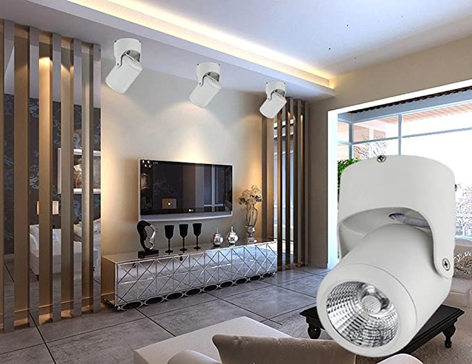 LED Destacar Lámpara de techo (Ángulo de iluminación ajustable ...