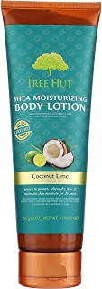 product image for Tree Hut Shea Moisturizing Body Lotion, Coconut Lime 9 oz (Pack of 5)