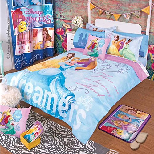 PRINCESS BEAUTIFUL DISNEY ORIGINAL COMFORTER SET 9 PCS (Original Disney Princesses)