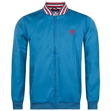 Umbro apos;Tejido Ramsey con bordado y ligero con cremallera chaqueta, 61212U-08I: Amazon.es: Deportes y aire libre