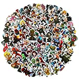 100 PCS Classic Heroes Character Stickers Cartoon Waterproof Stickers Car Laptop Helmet Luggage Vintage Skateboard Wall Decor Gift for Kids