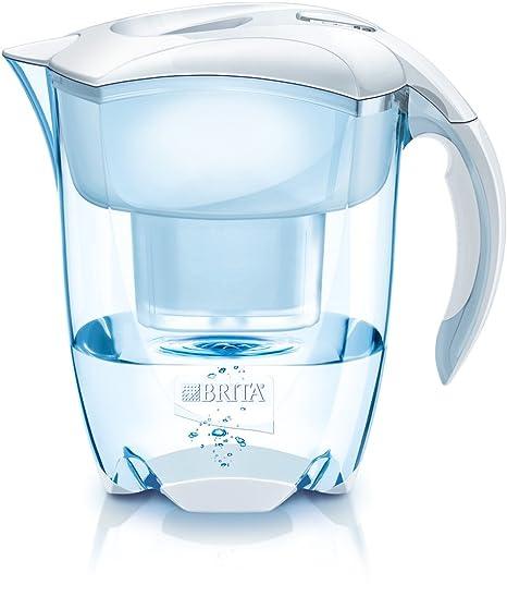 brita elemaris xl water filter jug and cartridge white amazon co rh amazon co uk