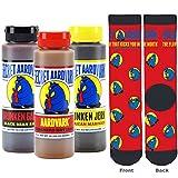 Secret Aardvark Gift Pack: Sauce + Socks