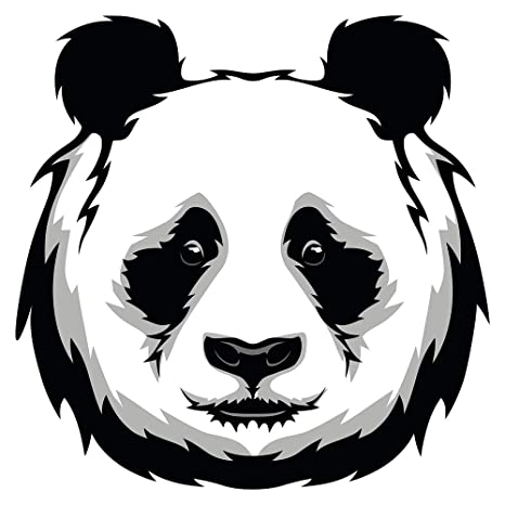 Pegatina de pared Guardería Asia Oso Panda Asia Deco para ...