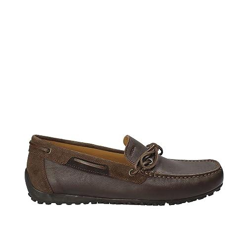 Geox U54d6b 00085c6006 - Mocasines de Piel para hombre: Amazon.es: Zapatos y complementos
