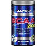 ALLMAX Nutrition - BCAA Capsules, 180 Capsules (BCAA 2: 1: 1 180ct)