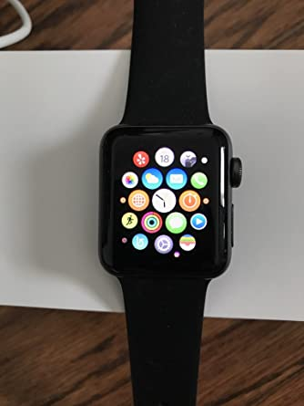 Amazon.com: Apple Series 2 reloj con carcasa de aluminio, de ...