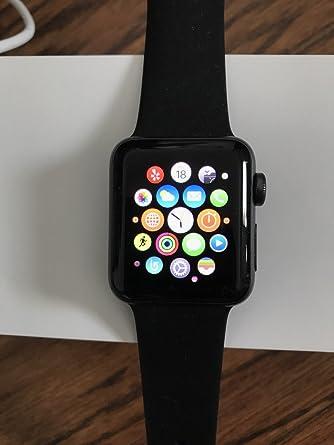 Amazon.com: Apple Series 2 reloj con carcasa de aluminio, de ...