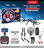 WensLTD Gift ! SHENGKAI D99A RC Quadcopter Drone WIFI FPV 2MP Camera 2.4G 4CH 6Axis Waterproof