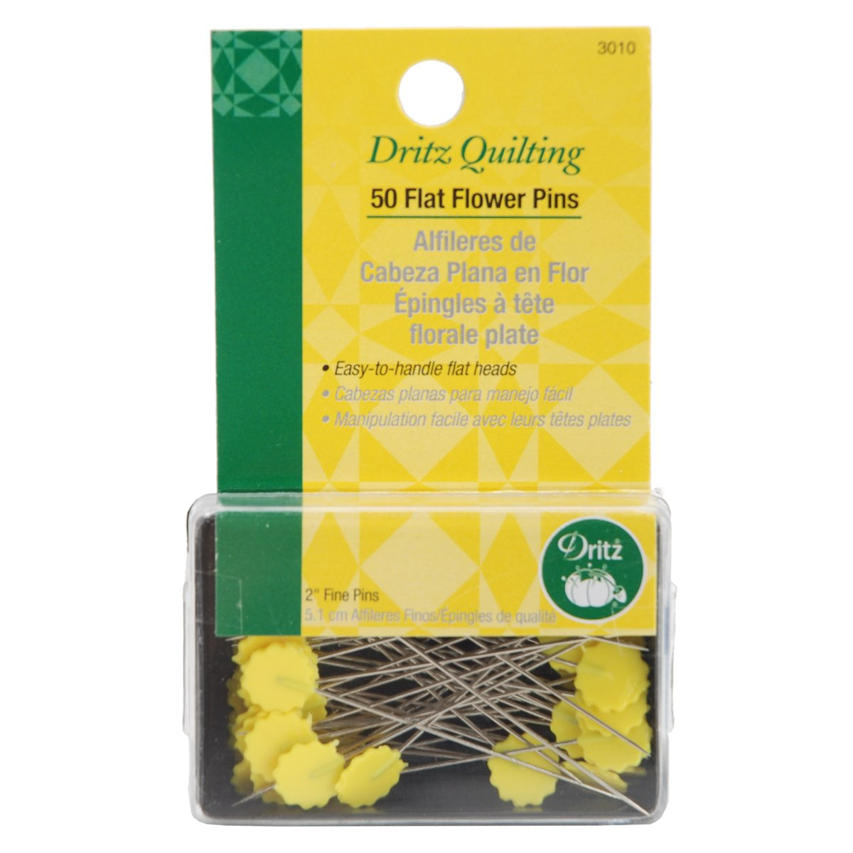 Dritz Quilting 3010 Flower Head Pins Prym Consumer USA