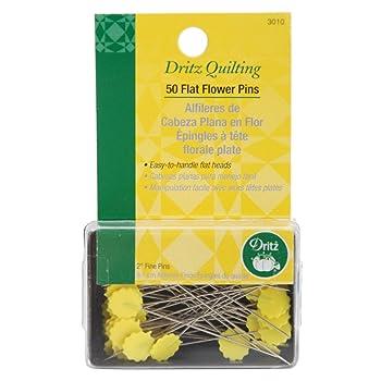 DritzFlat Flower Quilting Pins