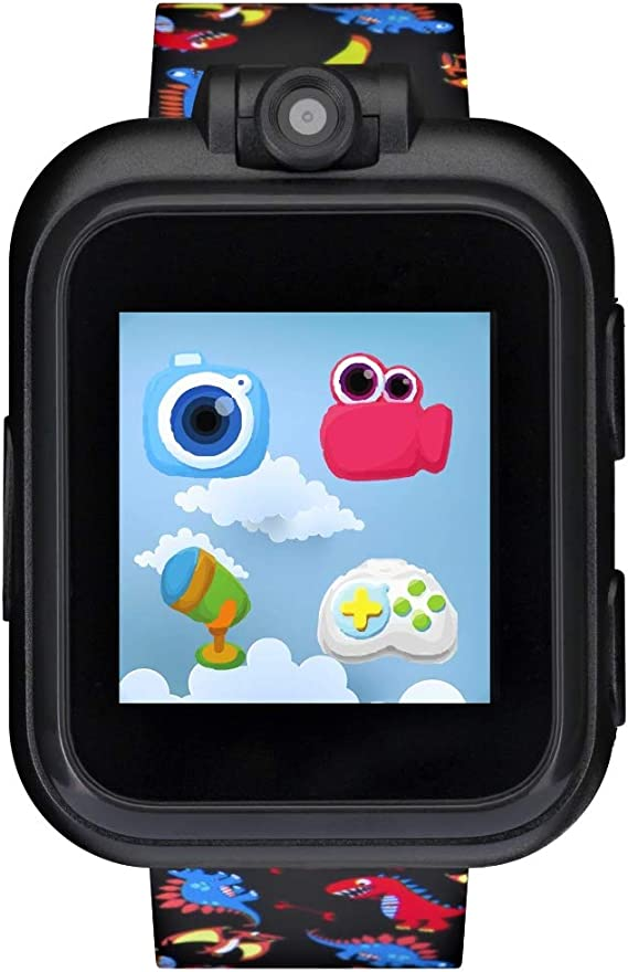 ITECH JR. Kids SMARTWATCH (Phones Not Applicable) (Black with Dinosaur)