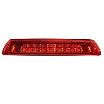 DNA Motoring 3BL-TTU07-LED-RD Third Brake Light: Automotive