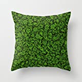 Green micropets Pillow Case by Dima_v animal 1818 inches