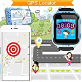 Dxrise Games Kids GPS tracker watch phone gps smartwatches kids watches smart baby watch bracelet with camera flashlight function for girls boys toys gift