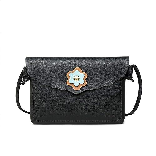 Fashio Women Shoulder Bag Crossbody Bag Messenger Phone Coin Bag Small  korean Style PU leather small female bag A  Handbags  Amazon.com cd2da111b5234