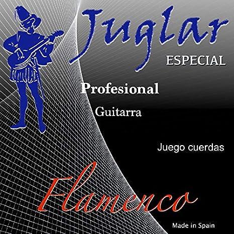Juego de Cuerdas para Guitarra Flamenca JF-60 Profesional Tensión ...