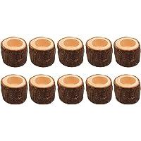 Sandrita Lot de 125 Bougies en Cire dabeille Vert 500 g N100 16,5 cm