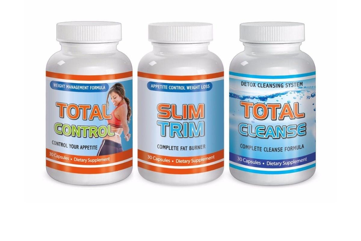 Total Lose Weight System Fat Burn Maximum Diet Rapid Fast Kit