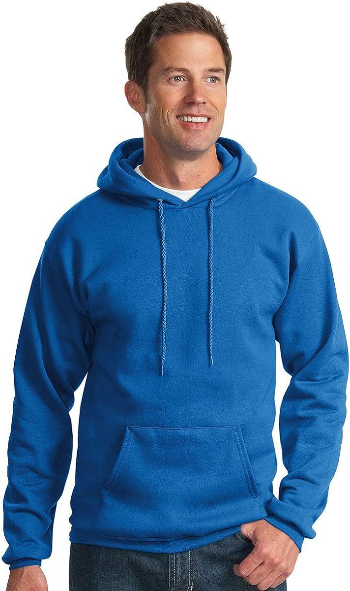 Royal Port /& Company Mens Pullover Pocket Hooded Sweatshirt Medium