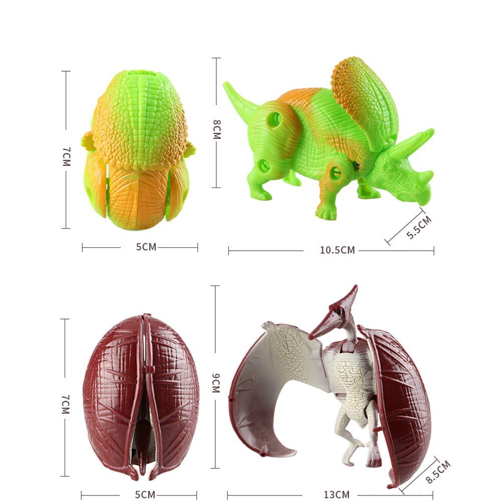 Faironly Enfant d/éformation Dinosaur Egg Pterosaurs Tyrannosaurus Rex Long Glissi/ère Robuste /à Dragon Dinosaure Mod/èle Jouet