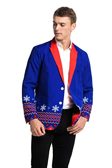 U Look Ugly Today Men S Christmas Party Blazer Funny Xmas Party Suit