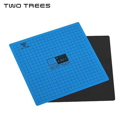 Aibecy TWO TREES - Cinta adhesiva para cama caliente con soporte ...