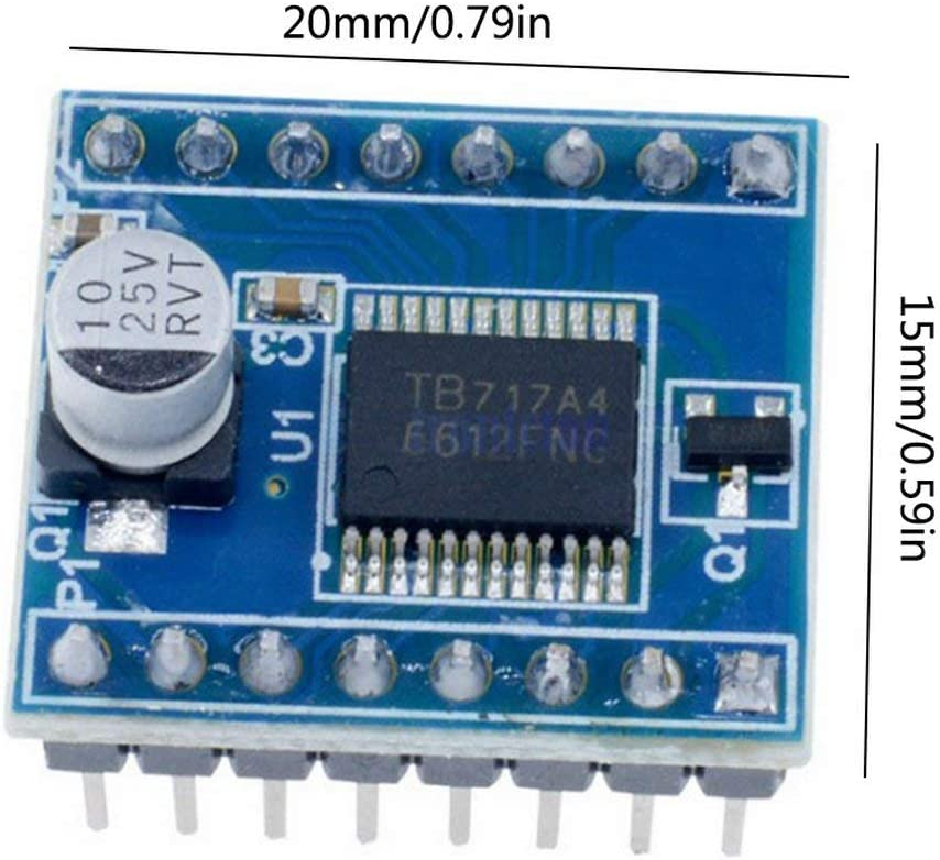 Zinniaya Motor Drive Tb6612Fng Module High Performance//Ultra Small Volume 3Pi Package Performance Super L298N