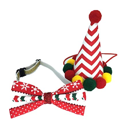 STOBOK Conjunto de collar de cono y corbata de lazo para fiesta de ...
