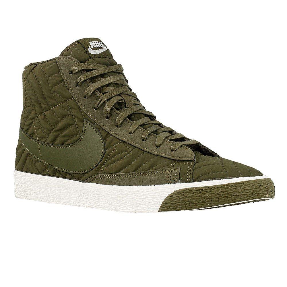 Nike Wmns Blazer Mid PRM SE - 857664300 - Color Olive - Size: 7.0